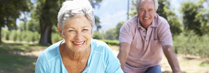 Elderly couple wellness in Tulsa OK